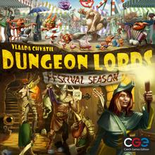 Dungeon Lords: Festival Season - Lautapeli