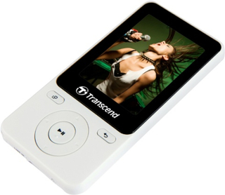 Transcend MP3 MP710 8GB White