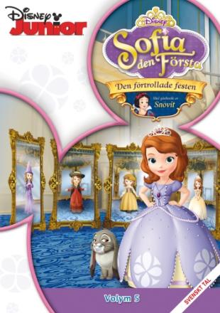 DVD Sofia den Första Volym 5 - Den förtrollade festen