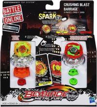 Beyblade Crushing Blast Barrage - Hasbro