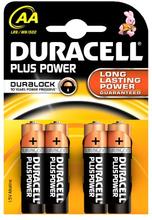 Duracell AA Duralock Plus Power 4 kpl