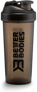 Fitness Shaker 600 ml, Black/Black