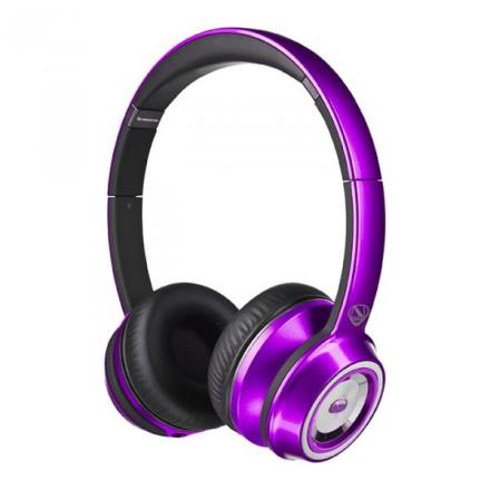 Monster N-Tune On-Ear, Purple