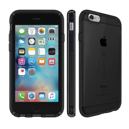 iPhone 6 Plus/6s Plus CandyShell Clear - Onyx Black