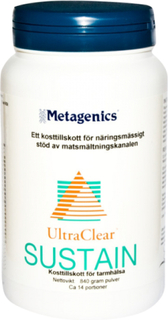 Ultraclear Sustain Naturell, 840 gram