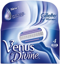 Gillette Blades Female Venus Divine, 4 Pack