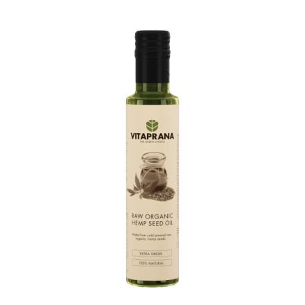 Raw Organic Hemp seed oil, 250 ml