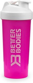 Fitness Shaker 600 ml, hot pink