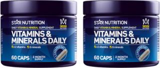 2 x Vitamins & Minerals Daily, 60 caps, 60 caps