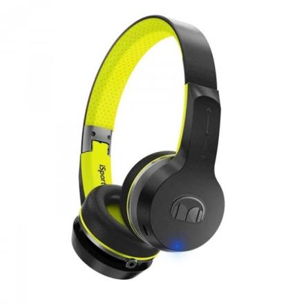 Monster iSport Freedom V.2 Wireless On-Ear Headphones, green