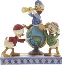 Mickey Mouse - Navigating Nephews (Huey, Dewie and Louie Figurine) -Statue -