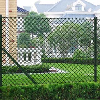 Hegn 1,5x25 m grøn komplet inkl. poler