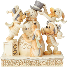 Mickey Mouse - Frosty Friendship White Woodland -Statue -