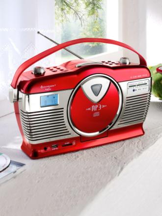 Retroradio Soundmaster rød