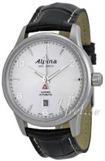 Alpina AL-525S4E6 Alpiner Silverfärgad/Läder Ø41.5 mm