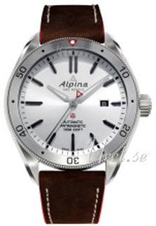 Alpina AL-525SS5AQ6 Alpiner Silverfärgad/Läder Ø44 mm