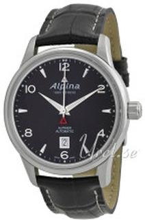 Alpina AL-525B4E6 Alpiner Svart/Läder Ø41.5 mm