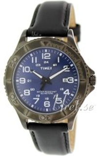 Timex T2P392 Blå/Læder Ø42 mm
