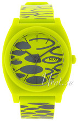 Nixon A119590-00 The Time Teller Gul/Plast Ø39 mm