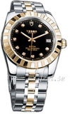 Tudor 21013-62583-BDIDSTL Classic Date Svart/Gulgu