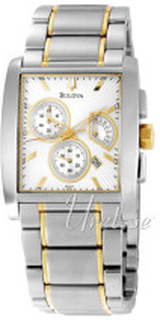 Bulova 98C104 Bracelet Silverfärgad/Gulguldtonat stål