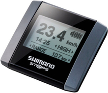 Shimano Steps SC-E6000 Imformation Display black/silver 2020 Cykeldatorer med sladd
