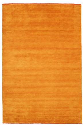 Handloom fringes - Orange matta 200x300 Modern Matta