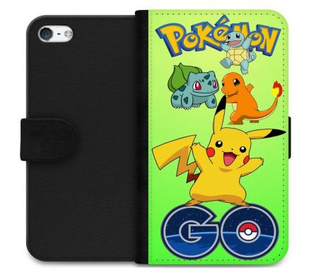 Apple iPhone 5 / 5s / SE Plånboksfodral Pokemon Go - CDON.COM
