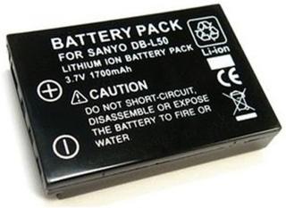 Ersättningsbatteri DBL-50