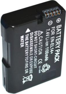 Ersättningsbatteri EN-EL14