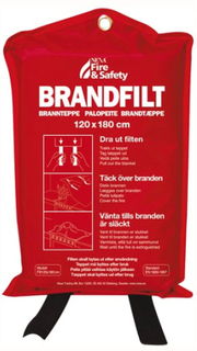 NEXA Fire & Safety BF-1218 Fire blanket 120x180 Red