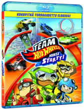 Team Hot Wheels: Huikea Startti! (Blu-ray)