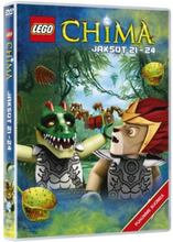 DVD LEGO LEGENDS OF CHIMA 6