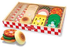 Smörgåsset i trä, Wooden Sandwich Making Set