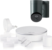 Somfy Home Alarm + Outdoor Camera antracitgrå