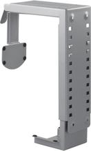 Deltaco teline tietokoneen pöytä-/seinäasennukseen,terästä, säädettäv?