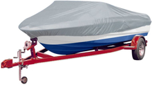 vidaXL Båtöverdrag grå 610-671 cm längd, 254 cm bredd