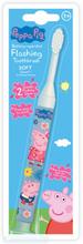 Peppa Pig Flashing Tandbørste 3 år 1 stk
