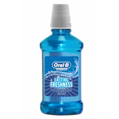 Oral-B Lasting Freshness Arctic Mint Mouthwash 250 ml