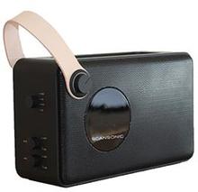 Scansonic PA4600, FM/DAB radio med Bluetooth, sort
