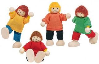 4 Dukker til dukkehuse hos Babytoys.dk