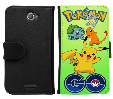 Sony Xperia E4 Plånboksfodral Pokemon Go - CDON.COM