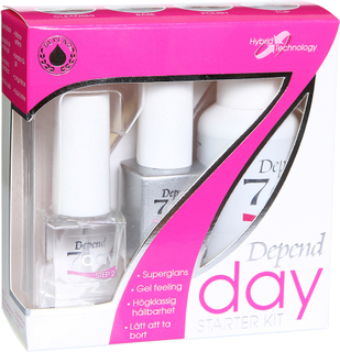 Kjøp Depend 7Day Starter Kit, 5 Pieces Depend Neglpleie Fri frakt