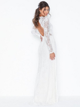 NLY Eve Rose Lace LS Gown