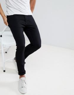 Burton Menswear super skinny jeans in black
