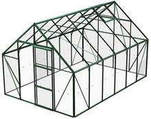 Växthus Bruka 9,9 m²-Grön-Glas-Ja