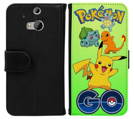 HTC One M8 Plånboksfodral Pokemon Go - CDON.COM