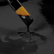 Spiselig maling, sort
