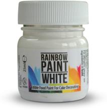 Spiselig maling, hvid