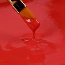 Spiselig maling, rød
